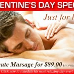 SPECIAL Facebook Offer: Valentine's Day Massage - Just for Him